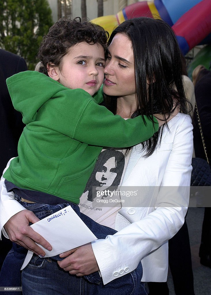 Jennifer Connelly and son Kai