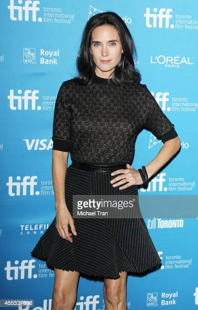 Jennifer Connelly arrives at the photocall of Shelter held during the 2014 Toronto International Film Festival Day 9 on September 12 2014 in Toronto...