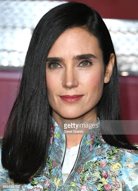 Jennifer Connelly arrives at the Premiere Of Columbia Pictures' 'Only The Brave' at Regency Village Theatre on October 8 2017 in Westwood California