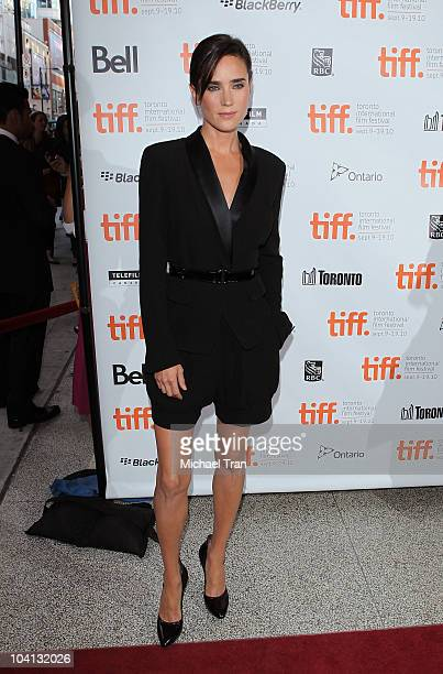 Jennifer Connelly arrives at the 'What's Wrong With Virginia' premiere during the 2010 Toronto International Film Festival held at The Elgin on...