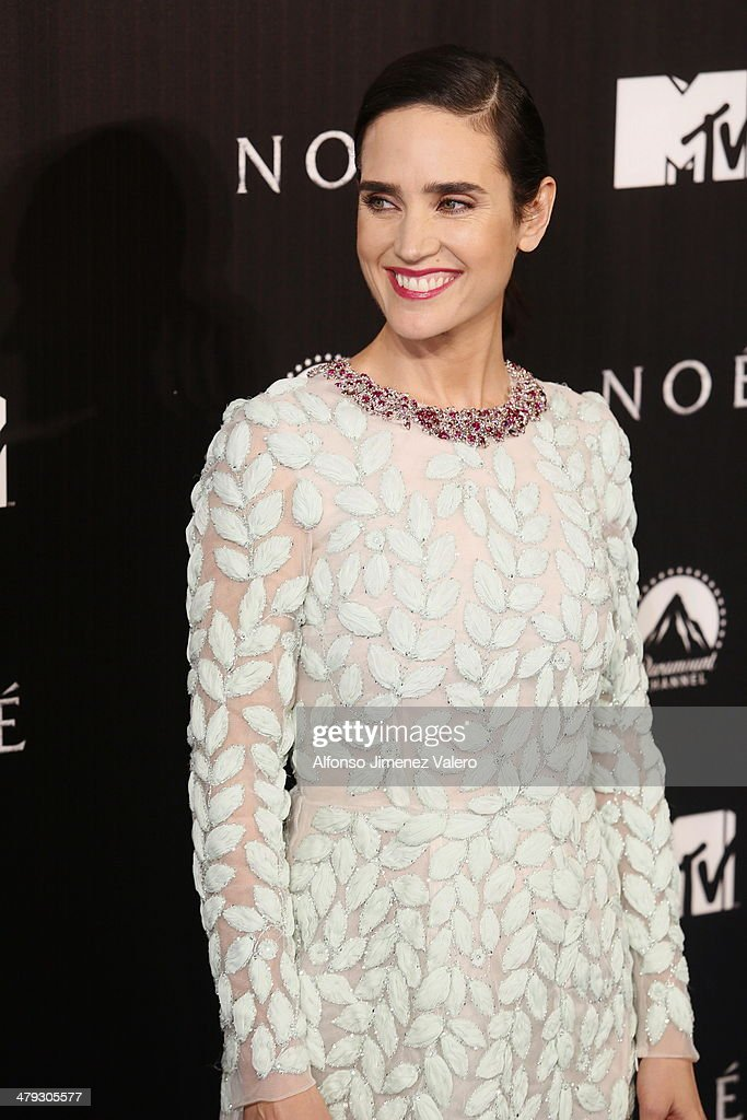 <a gi-track='captionPersonalityLinkClicked' href=/galleries/search?phrase=Jennifer+Connelly&family=editorial&specificpeople=201581 ng-click='$event.stopPropagation()'>Jennifer Connelly</a> attends 'Noe' Madrid Premiere at Palafox Cinema on March 17, 2014 in Madrid, Spain.