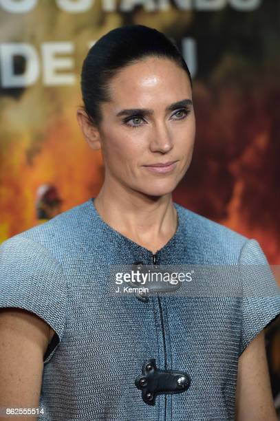 Jennifer Connelly attends 'Only The Brave' screening at iPic Theater on October 17 2017 in New York City