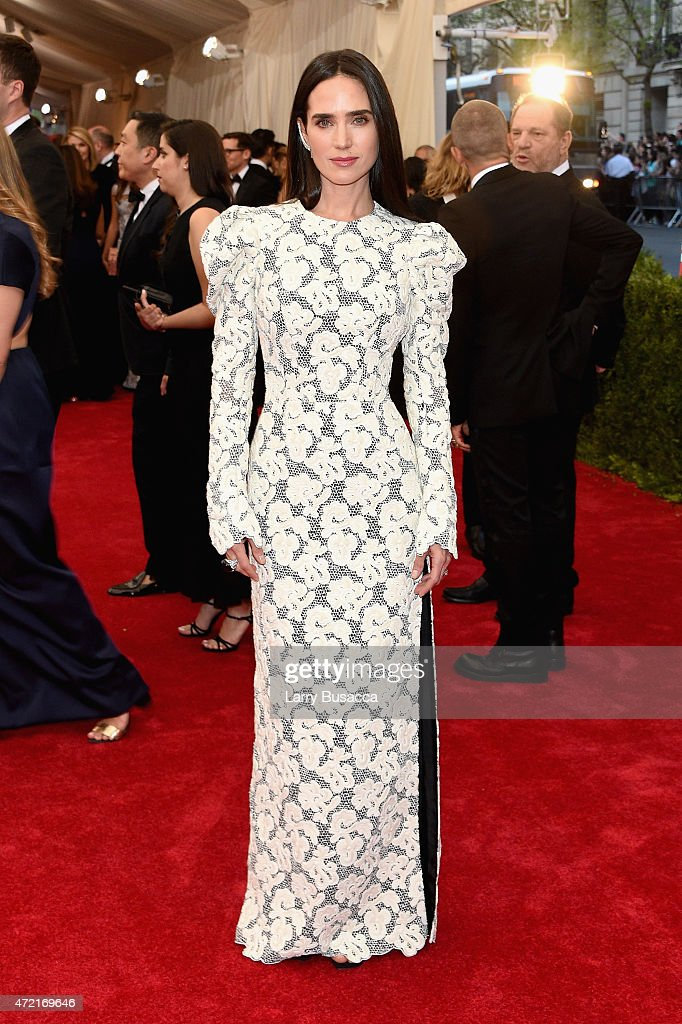 Jennifer Connelly attends the 'China Through The Looking Glass' Costume Institute Benefit Gala at the Metropolitan Museum of Art on May 4 2015 in New...