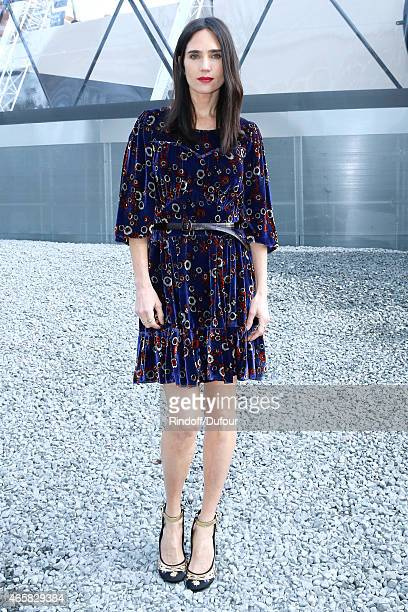 Jennifer Connelly attends the Louis Vuitton show as part of the Paris Fashion Week Womenswear Fall/Winter 2015/2016 on March 11 2015 in Paris France