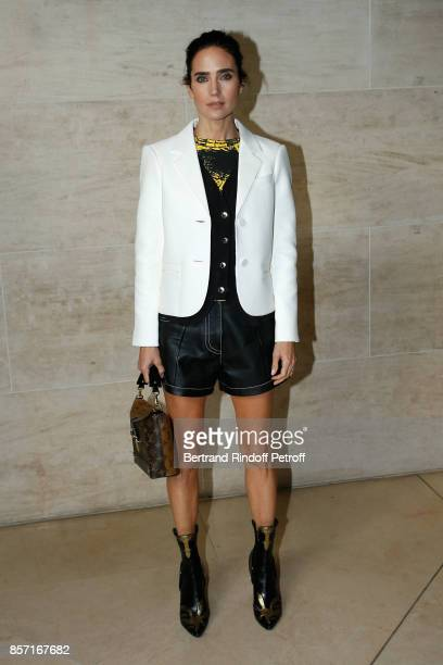Jennifer Connelly attends the Louis Vuitton show as part of the Paris Fashion Week Womenswear Spring/Summer 2018 on October 3 2017 in Paris France