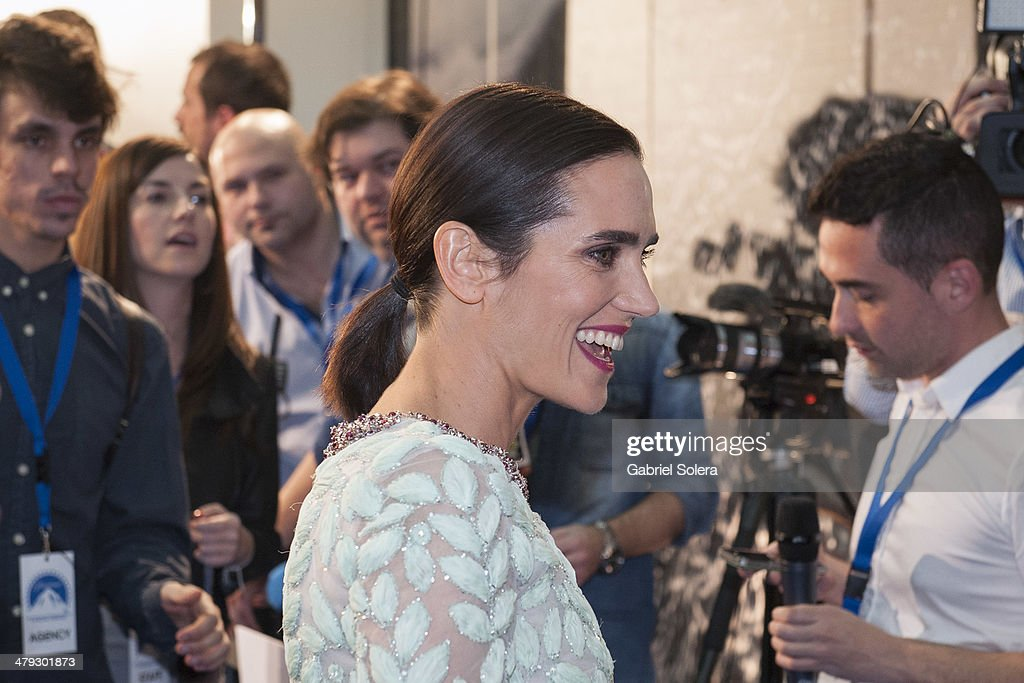 <a gi-track='captionPersonalityLinkClicked' href=/galleries/search?phrase=Jennifer+Connelly&family=editorial&specificpeople=201581 ng-click='$event.stopPropagation()'>Jennifer Connelly</a> attends the 'Noe' Madrid Premiere at Palafox Cinema on March 17, 2014 in Madrid, Spain.