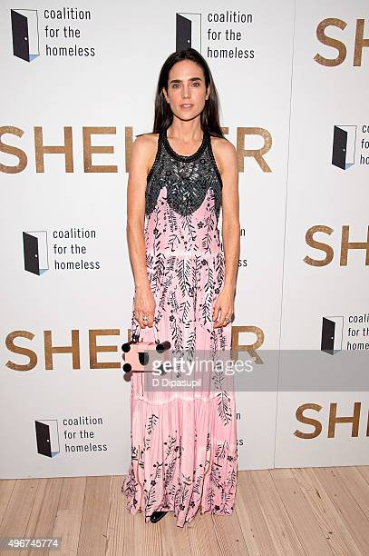 Jennifer Connelly attends the 'Shelter' New York premiere at The Whitney Museum of American Art on November 11 2015 in New York City