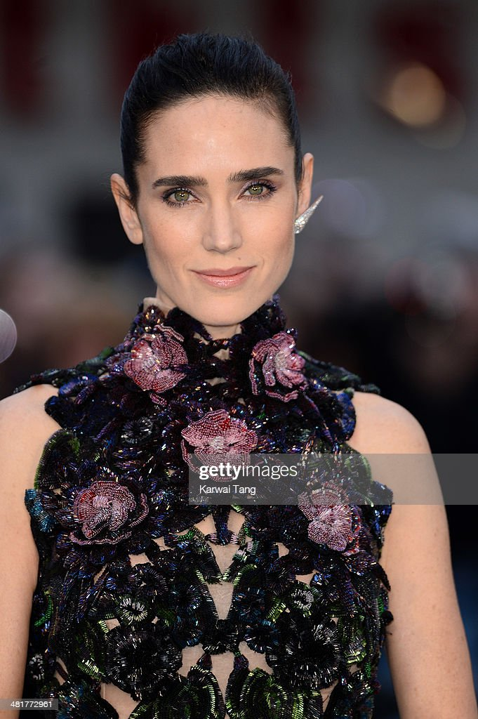 Jennifer Connelly attends the UK premiere of 'Noah' held at the Odeon Leicester Square on March 31, 2014 in London, England.