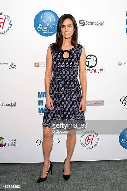 Jennifer Connelly attends the UN Women For Peace Association International Women's Day Celebration at UN Delegates Dining Room and Terrace on March 6...