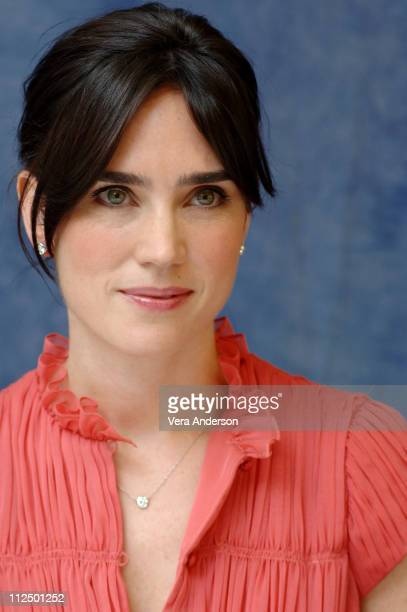 Jennifer Connelly during 'Blood Diamond' Press Conference with Leonardo DiCaprio Ed Zwick and Jennifer Connolly at Regent Beverly Wilshire Hotel in...