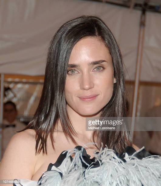 Jennifer Connelly during 'Chanel' Costume Institute Gala Opening at the Metropolitan Museum of Art Departures at The Metropolitan Museum of Art in...
