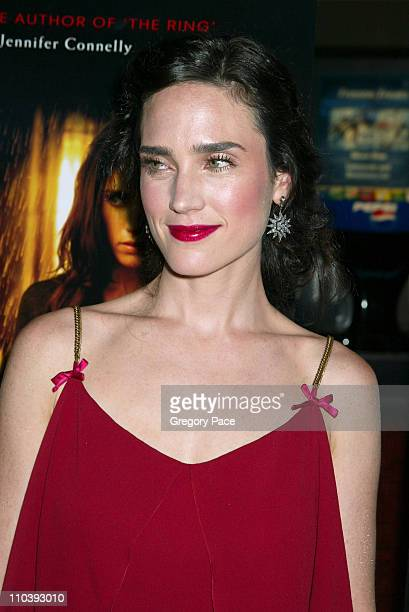 Jennifer Connelly during 'Dark Water' New York City Premiere Inside Arrivals at Clearview Chelsea West Cinema in New York City New York United States