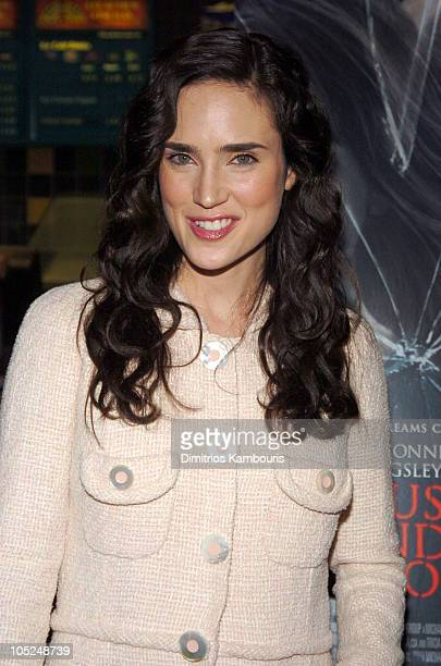 Jennifer Connelly during 'House of Sand and Fog' New York Premiere Arrivals at Chelsea West Theatre in New York City New York United States