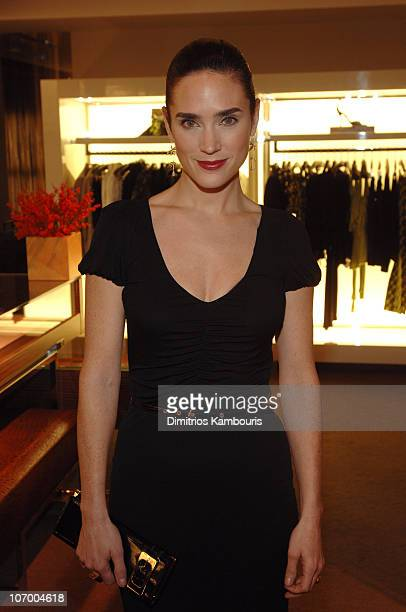 Jennifer Connelly during Launch of Gucci Holiday Campaign to Benefit UNICEF Event with Special Guest Jennifer Connelly at Gucci in New York City New...