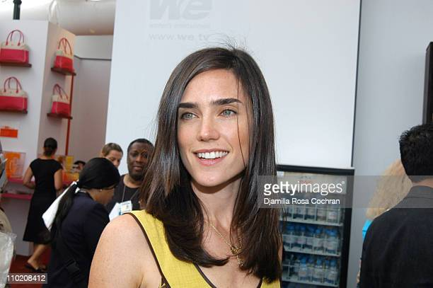 Jennifer Connelly during Olympus Fashion Week Spring 2005 Seen at Bryant Park Day 3 at Bryant Park in New York City New York United States