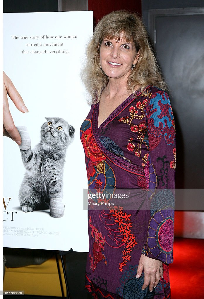 Jennifer Conrad attends The Paw Project Premiere on April 29, 2013 in West Hollywood, California.