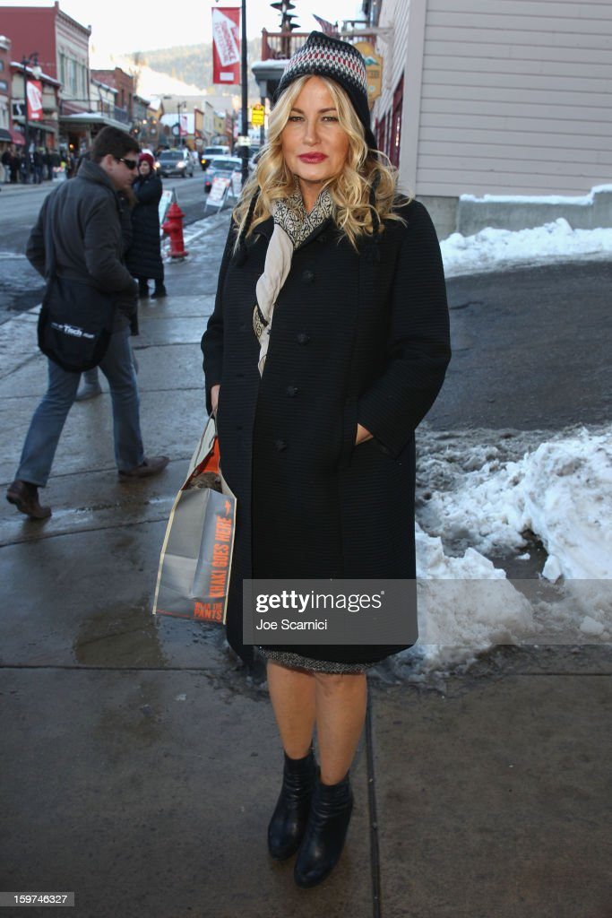 Jennifer Coolidge attends Day 1 of the Variety Studio at 2013 Sundance Film Festival on January 19, 2013 in Park City, Utah.