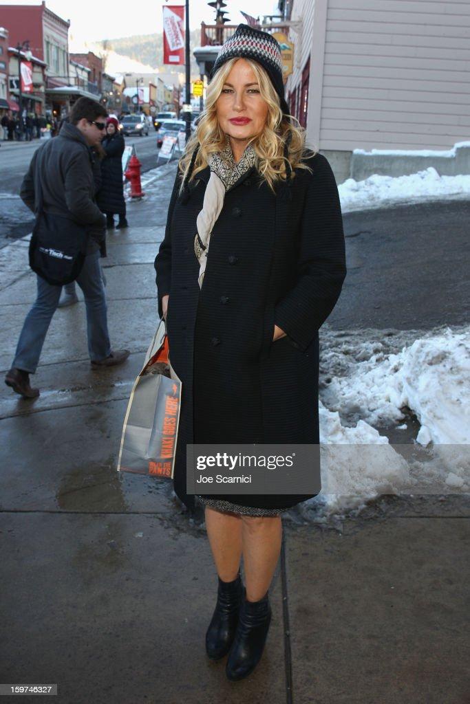 Jennifer Coolidge attends Day 1 of the Variety Studio at 2013 Sundance Film Festival on January 19, 2013 in Park City, Utah.
