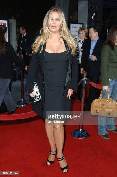 Jennifer Coolidge during 'American Dreamz' Los Angeles Premiere Arrivals at ArcLight Hollywood in Hollywood California United States