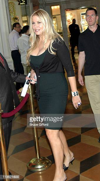 Jennifer Coolidge during Gina Gershon Hosts Party at Tao Nightclub for Independence Day Weekend 2006 at Tao Nightclub in Las Vegas Nevada United...