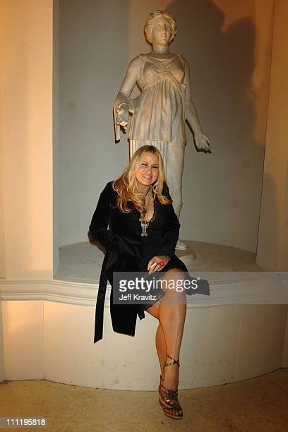 Jennifer Coolidge during HBO AEG Live's 'The Comedy Festival' Comic Relief 2006 After Party at Caesars Palace in Las Vegas Nevada United States