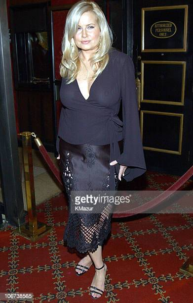 Jennifer Coolidge during 'Legally Blonde 2 Red White Blonde' Premiere New York City Inside Arrivals at Ziegfeld Theater in New York City New York...