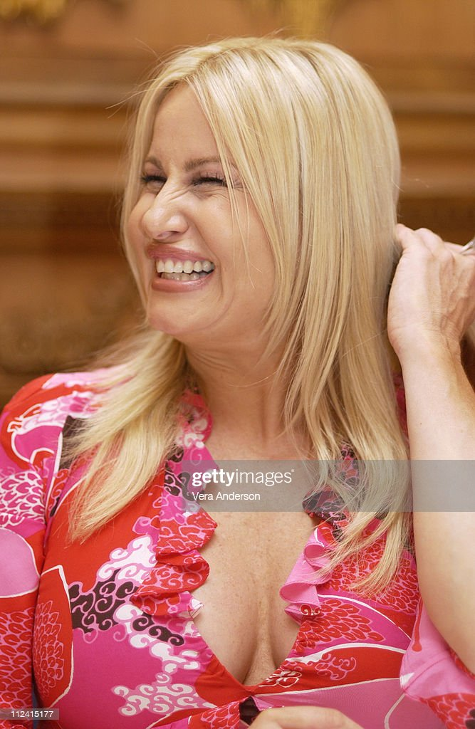 <a gi-track='captionPersonalityLinkClicked' href=/galleries/search?phrase=Jennifer+Coolidge&family=editorial&specificpeople=239149 ng-click='$event.stopPropagation()'>Jennifer Coolidge</a> during 'Legally Blonde 2: Red, White & Blonde' Press Conference with Reese Witherspoon, Bob Newhart, <a gi-track='captionPersonalityLinkClicked' href=/galleries/search?phrase=Jennifer+Coolidge&family=editorial&specificpeople=239149 ng-click='$event.stopPropagation()'>Jennifer Coolidge</a> and Regina King at The Dorchester Hotel in London, Great Britain.