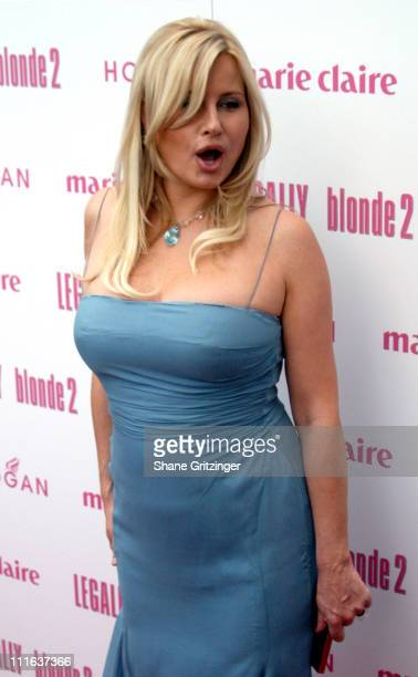 Jennifer Coolidge during 'Legally Blonde 2 Red White Blonde' Special Screening at United Artists Southampton Theater in Southampton New York United...