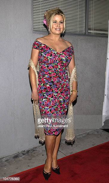 Jennifer Coolidge during Project Angel Food's Angel Awards 2002 at Project Angel Food in Los Angeles California United States