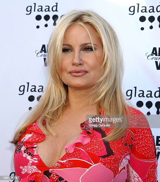 Jennifer Coolidge during The 14th Annual GLAAD Media Awards Los Angeles Arrivals at Kodak Theatre in Hollywood California United States