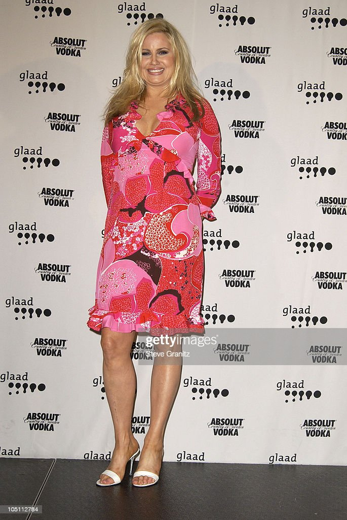 Jennifer Coolidge during The 14th Annual GLAAD Media Awards Los Angeles - Press Room at Kodak Theatre in Hollywood, California, United States.