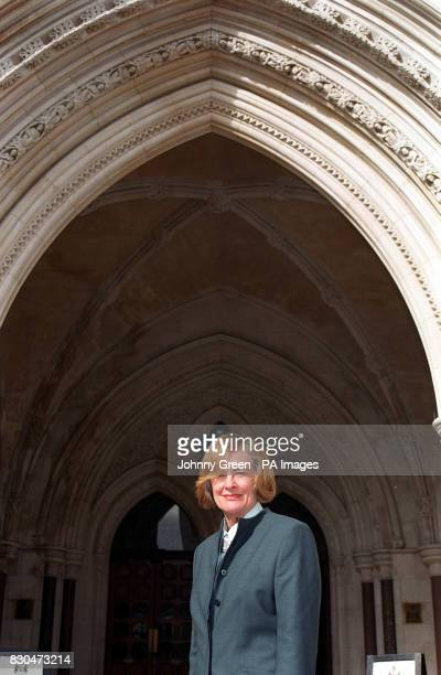 Jennifer Cormack outside the High Court Judgment was being given in a woman's High Court damages claim over a misdiagnosis of breast cancer which led...