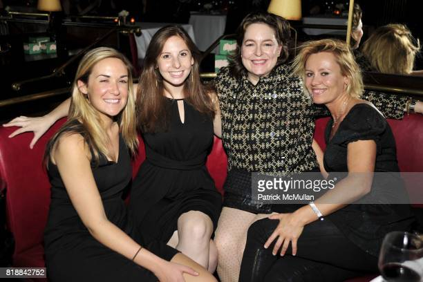 Jennifer Coughlan Glenda Left Coroline Bassett and Dawn McDaniel attend CHRISTIE'S Green Auction After Party Hosted by LA MER at Monkey Bar on April...