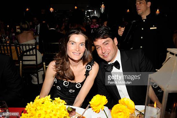 Jennifer Creel and Alex Badia attend NEW YORKERS FOR CHILDREN Spring Gala 'A Fool's Fete' Presented By MISSONI at Mandarin Oriental on April 16 2008...