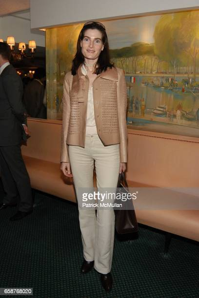 Jennifer Creel attends Andre Leon Talley and Robert Burke host at La Caravelle for Loulou de la Falaise Collection on February 12 2004