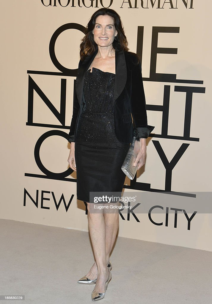 Jennifer Creel attends Armani - One Night Only New York at SuperPier on October 24, 2013 in New York City.