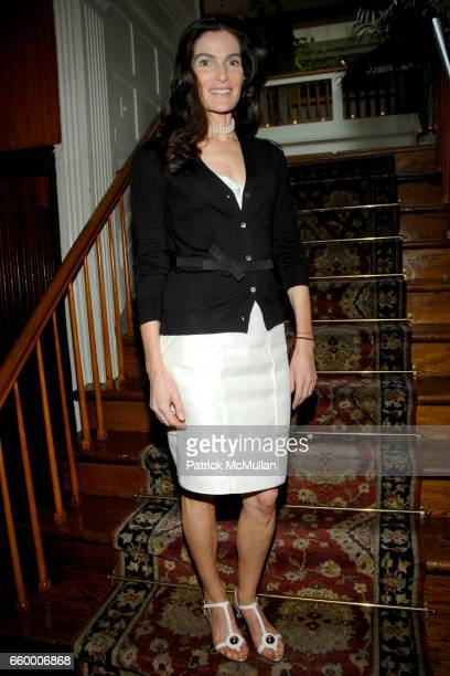 Jennifer Creel attends CHANTELLE 60th ANNIVERSARY LUNCHEON at Le Grenouille on May 15 2009 in New York City