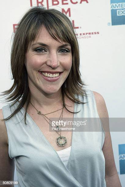 Jennifer Crystal Foley attends the premiere of 'My Uncle Berns' during the Tribeca Film Festival at UA Battery Park May 6 2004 in New York City
