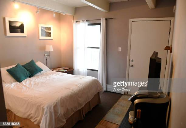 Jennifer DahirKanehl's lockoff room attached to her condo April 26 2017 in Breckenridge Colorado DahirKanehl uses the extra room that has a separate...