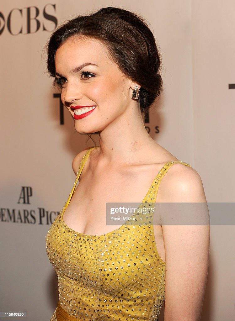Jennifer Damiano attends the 65th Annual Tony Awards at the Beacon Theatre on June 12 2011 in New York City