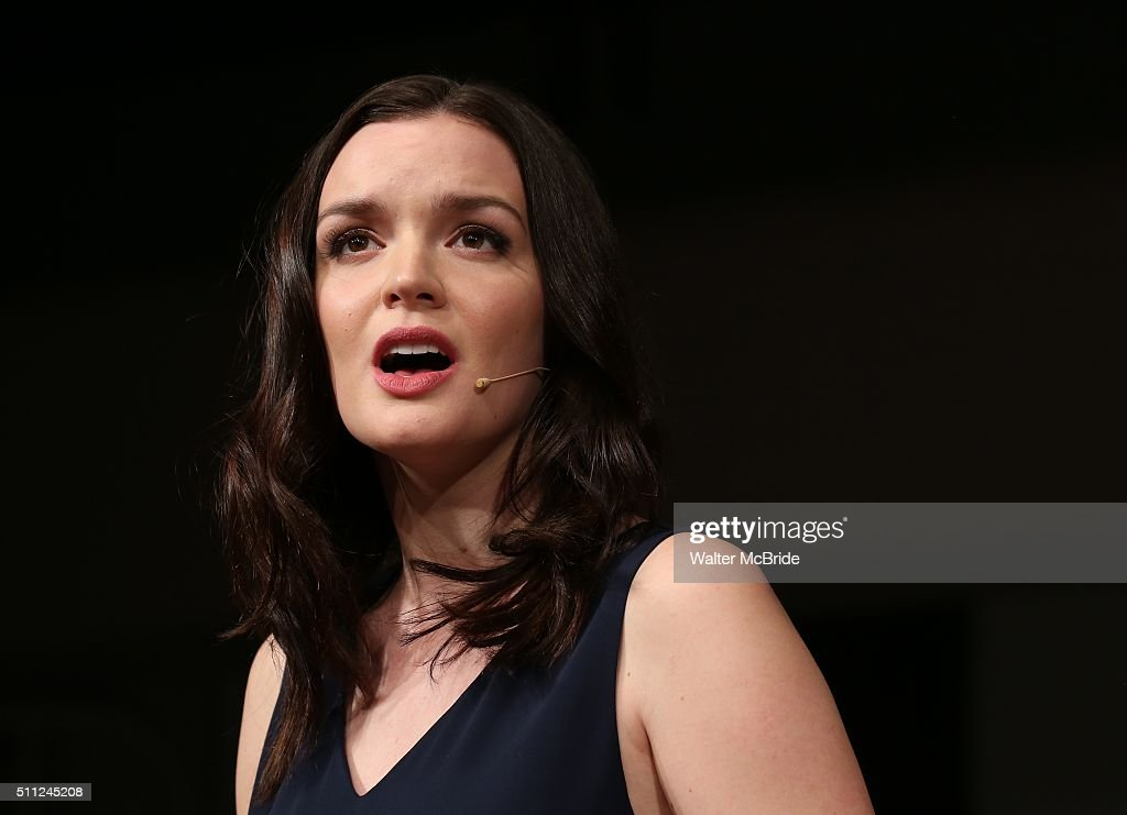 Jennifer Damiano during the 'American Psycho' press preview at The New 42nd Street Studios on February 18 2016 in New York City