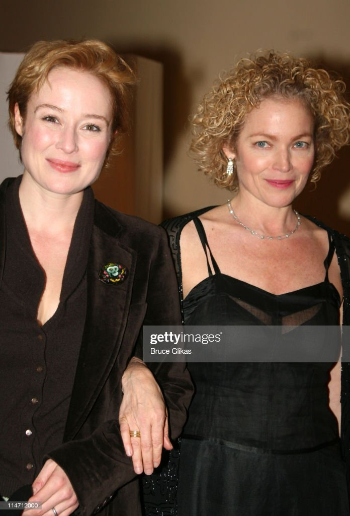 Jennifer Ehle and Amy Irving during 'Shipwreck: The Coast of Utopia Part 2' - Opening Night Party at Avery Fisher Hall in New York City, New York, United States.