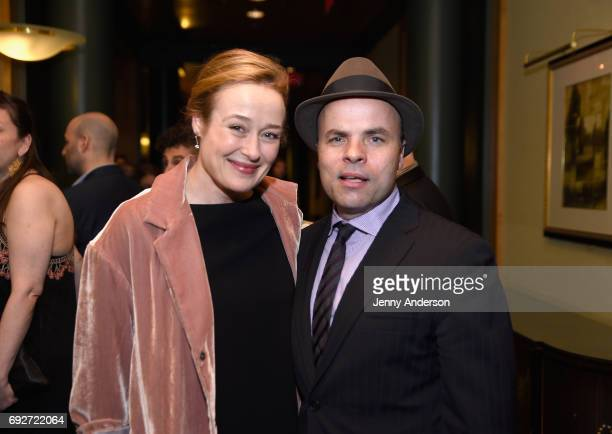 Jennifer Ehle and JT Rogers attends the Tony Honors Cocktail Party Presenting The 2017 Tony Honors For Excellence In The Theatre And Honoring The...