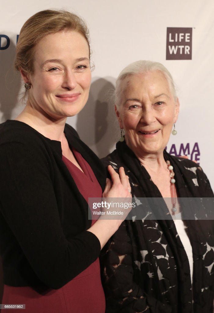 Jennifer Ehle and Rosemary Harris attend the 83rd Annual Drama League Awards Ceremony at Marriott Marquis Times Square on May 19, 2017 in New York City.
