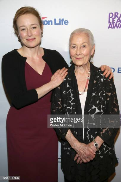 Jennifer Ehle and Rosemary Harris attend the 83rd Annual Drama League Awards Ceremony at Marriott Marquis Times Square on May 19 2017 in New York City