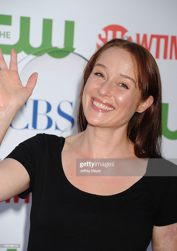 <a gi-track='captionPersonalityLinkClicked' href=/galleries/search?phrase=Jennifer+Ehle&family=editorial&specificpeople=776571 ng-click='$event.stopPropagation()'>Jennifer Ehle</a> arrives at the TCA Party for CBS, The CW and Showtime held at The Pagoda on August 3, 2011 in Beverly Hills, California.