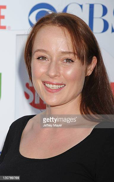 Jennifer Ehle arrives at the TCA Party for CBS The CW and Showtime held at The Pagoda on August 3 2011 in Beverly Hills California