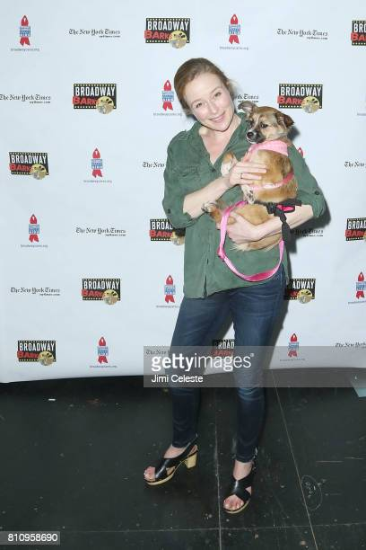 Jennifer Ehle attends Broadway Barks Announces Mary Tyler Moore Award at Shubert Alley on July 8 2017 in New York City
