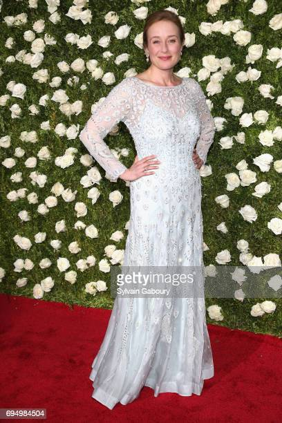 Jennifer Ehle attends the 2017 Tony Awards at Radio City Music Hall on June 11 2017 in New York City