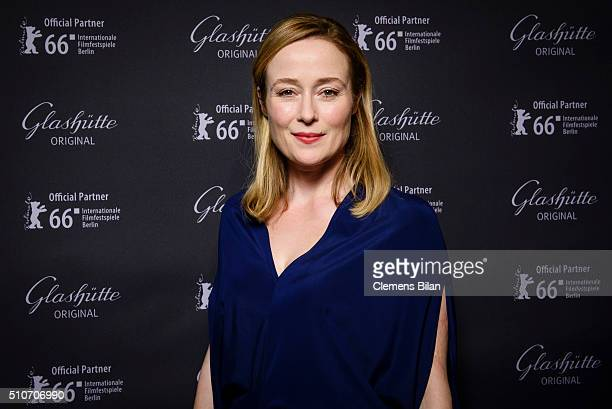Jennifer Ehle attends the 'Quiet Passion Pre Premiere at Glashuette Lounge' on February 14 2016 in Berlin Germany